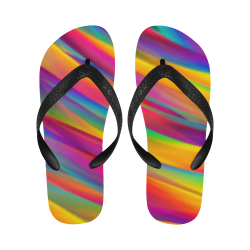 Rainbow Dreams Flip Flops for Men/Women (Model 040)