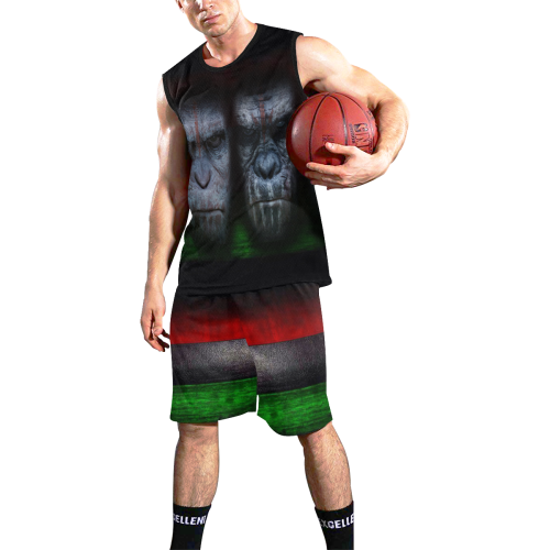RBG APES SOLDIERS All Over Print Basketball Uniform