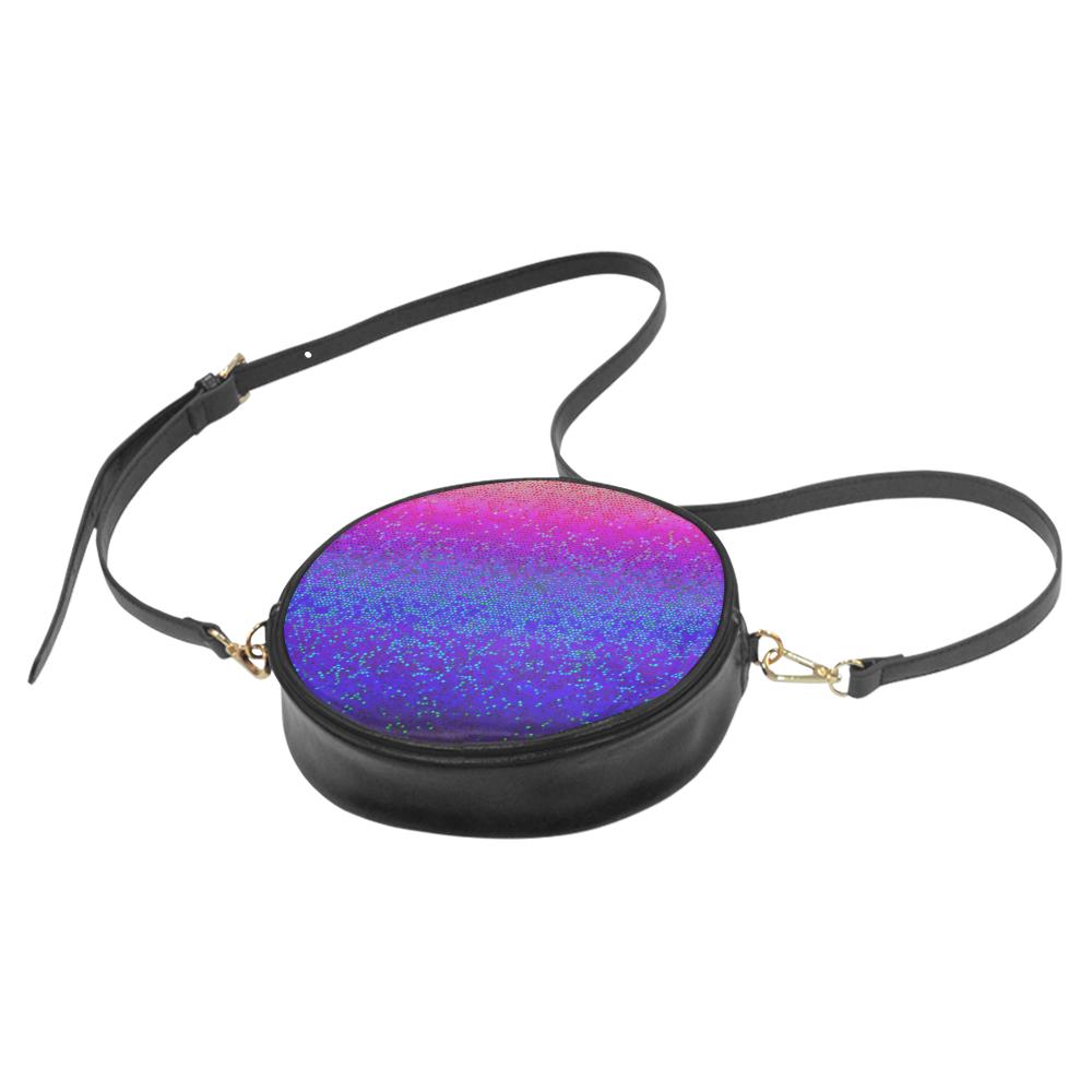 Glitter Star Dust G248 Round Sling Bag (Model 1647)
