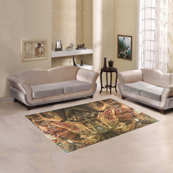 BA Art Deco Area Rug 5'3''x4'