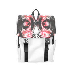 xxsml Red Rave Unit Casual Shoulders Backpack (Model 1623)