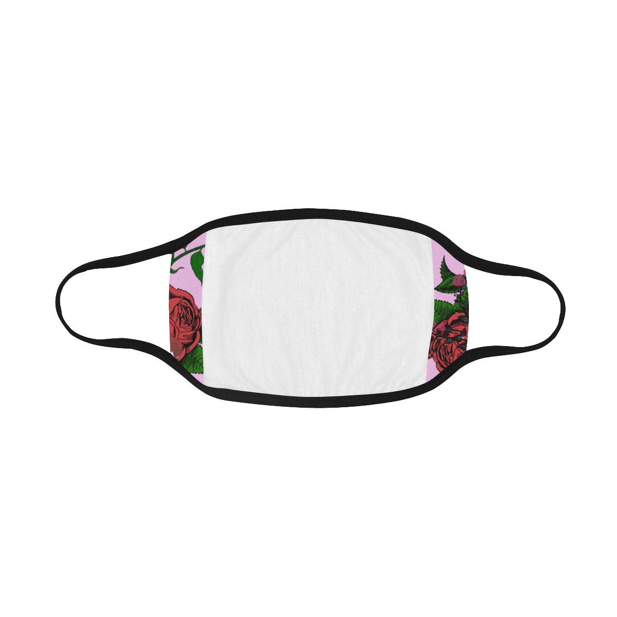 pink rose vampire Mouth Mask