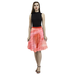 Radiating Heart Melete Pleated Midi Skirt (Model D15)