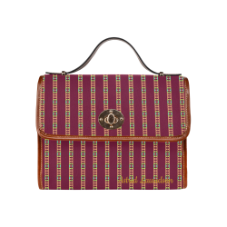 56st Waterproof Canvas Bag/All Over Print (Model 1641)