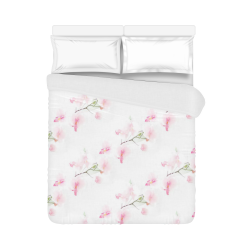 "Pattern Orchidées Duvet Cover 86""x70"" ( All-over-print)"