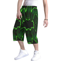 8000  EKPAH 7 low Men's All Over Print Baggy Shorts (Model L37)