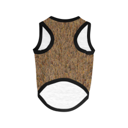 Autumn Stained Glass All Over Print Pet Tank Top