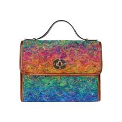 Fluid Colors G249 Waterproof Canvas Bag/All Over Print (Model 1641)