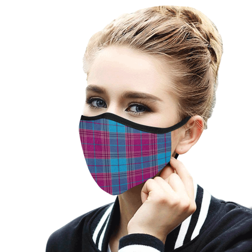 16tt Mouth Mask in One Piece (2 Filters Included) (Model M02) (Non-medical Products)