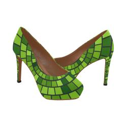 verde Women's High Heels (Model 044)