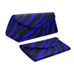 Ripped SpaceTime Stripes - Blue Custom Foldable Glasses Case