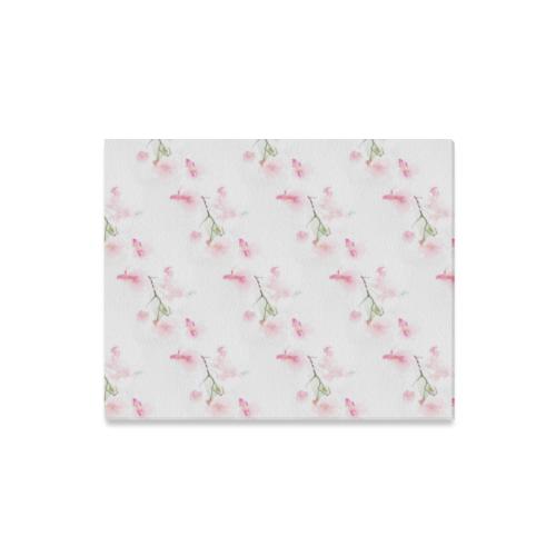 """Pattern Orchidées Canvas Print 16""""x20"""""""