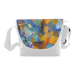 Colorful paint strokes Crossbody Bag (Model 1631)