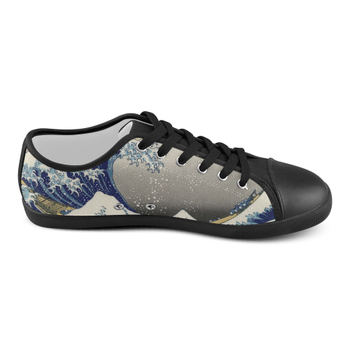 Wave Canvas Shoes for Women/Large Size (Model 016)