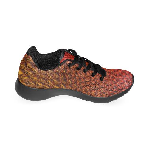 Solder Snake Skin by Jera Nour Women's Running Shoes/Large Size (Model 020)