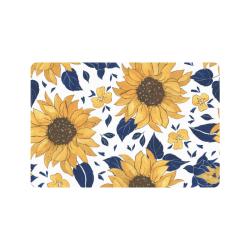 """Sunflowers 24""""X16 Doormat 24"""" x 16"""""""