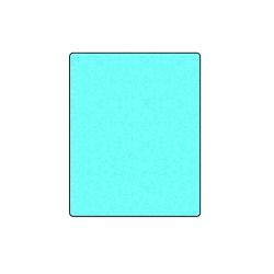"""Neon Turquoise Blanket 40""""x50"""""""