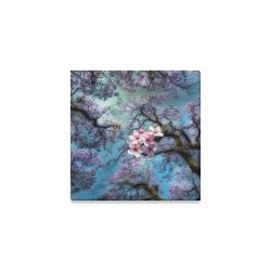 "Cherry blossomL Canvas Print 6""x6"""