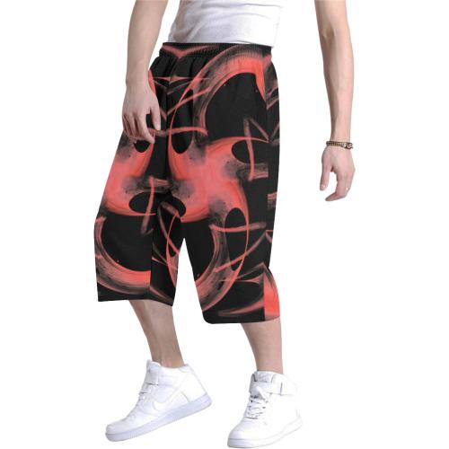 5000xart 0 Men's All Over Print Baggy Shorts (Model L37)