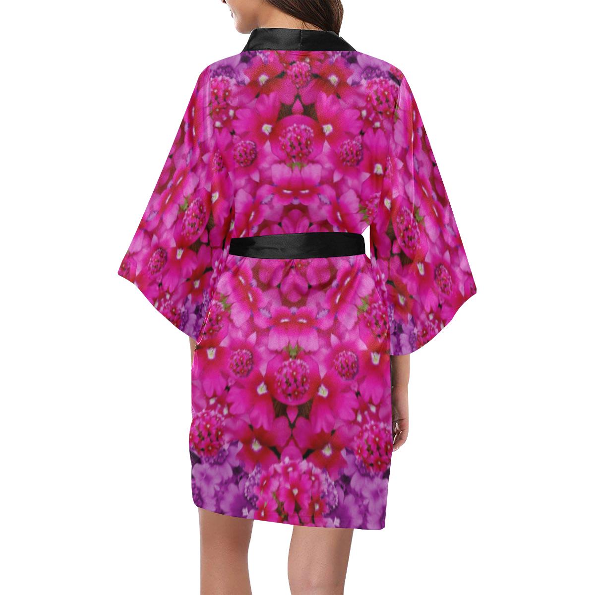 flower suprise to love and enjoy Kimono Robe
