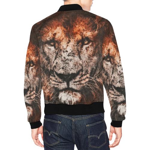 lion jbjart #lion All Over Print Bomber Jacket for Men (Model H19)