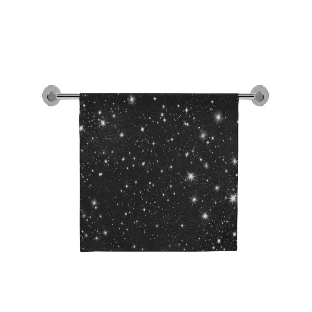 "Stars in the Universe Bath Towel 30""x56"""