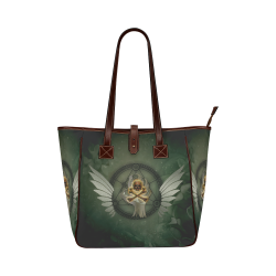 Skull in a hand Classic Tote Bag (Model 1644)