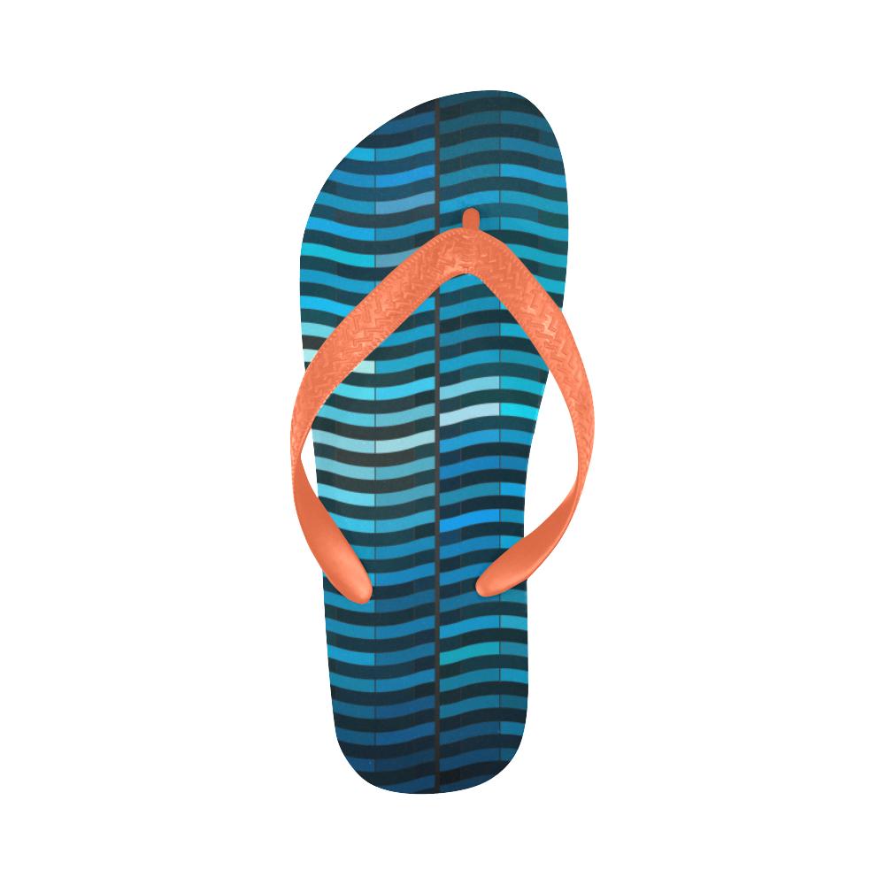 bluewave New Flip Flops for Men/Women (Model 040) (Both Customized)