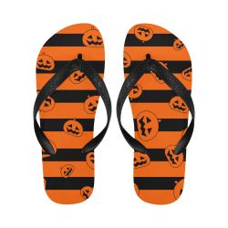 Calabazas-con-fondo Flip Flops for Men/Women (Model 040)