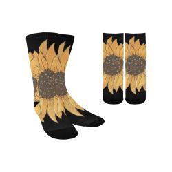 LG Sunflower Custom Socks for Kids