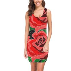 Rose Medea Vest Dress (Model D06)
