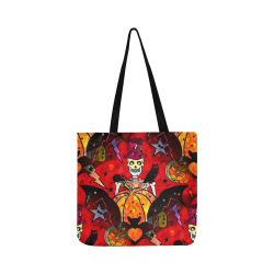 Skulloween by Nico Bielow Reusable Shopping Bag Model 1660 (Two sides)