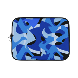 Camouflage Abstract Blue and Black Microsoft Surface Pro 3/4