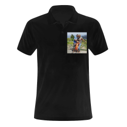 Custom Family Men's Polo Shirt (Model T24)
