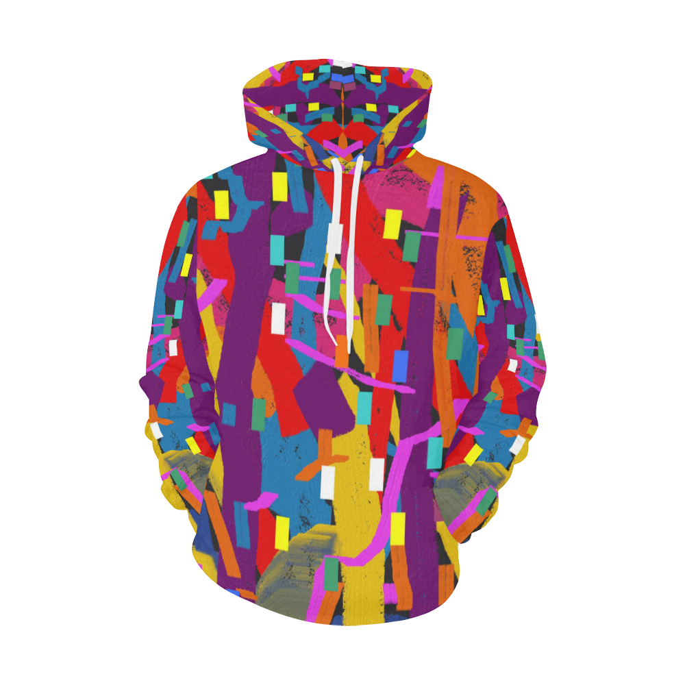CONFETTI NIGHTS 2 All Over Print Hoodie for Women (USA Size) (Model H13)