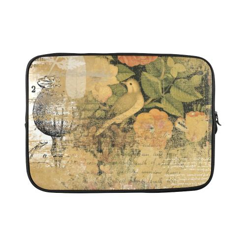 "Ancient garden Custom Sleeve for Laptop 15.6"""