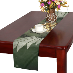Skull in a hand Table Runner 14x72 inch