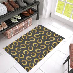"""Golden horseshoe Azalea Doormat 30"""" x 18"""" (Sponge Material)"""