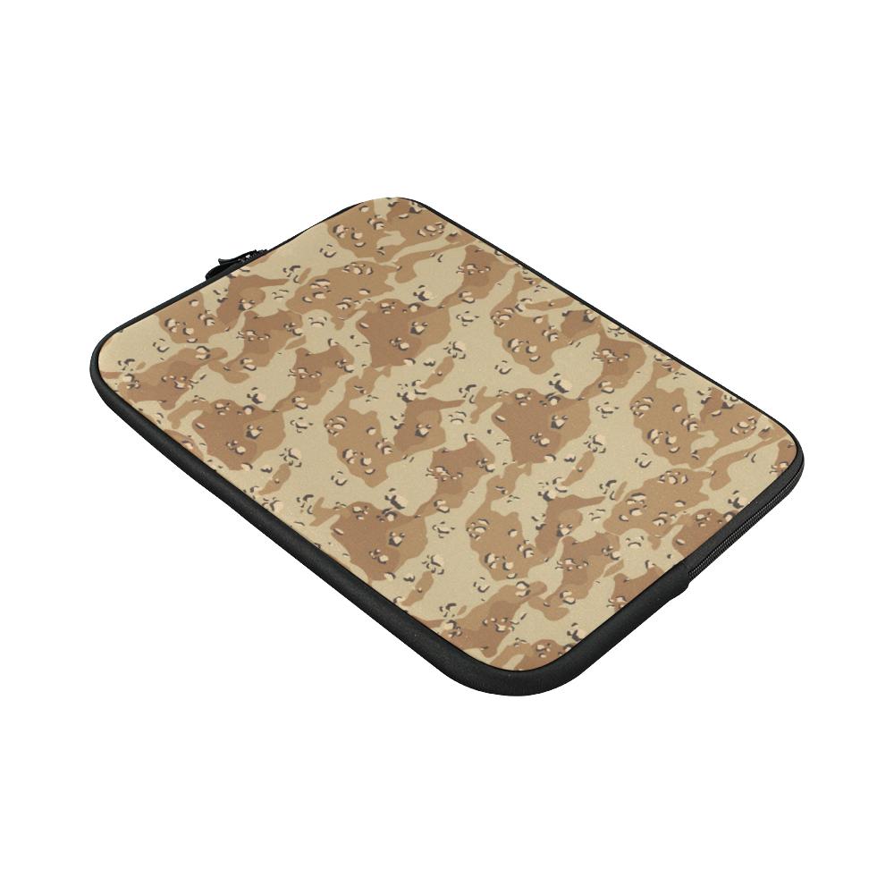 "Vintage Desert Brown Camouflage Custom Sleeve for Laptop 15.6"""