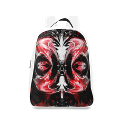 xxsml Red Rave Unit School Backpack/Large (Model 1601)