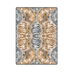 "Luxury Abstract Design Blanket 58""x80"""