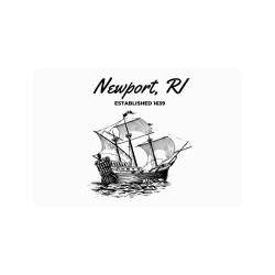 """Newport, RI Doormat 24""""x16"""""""