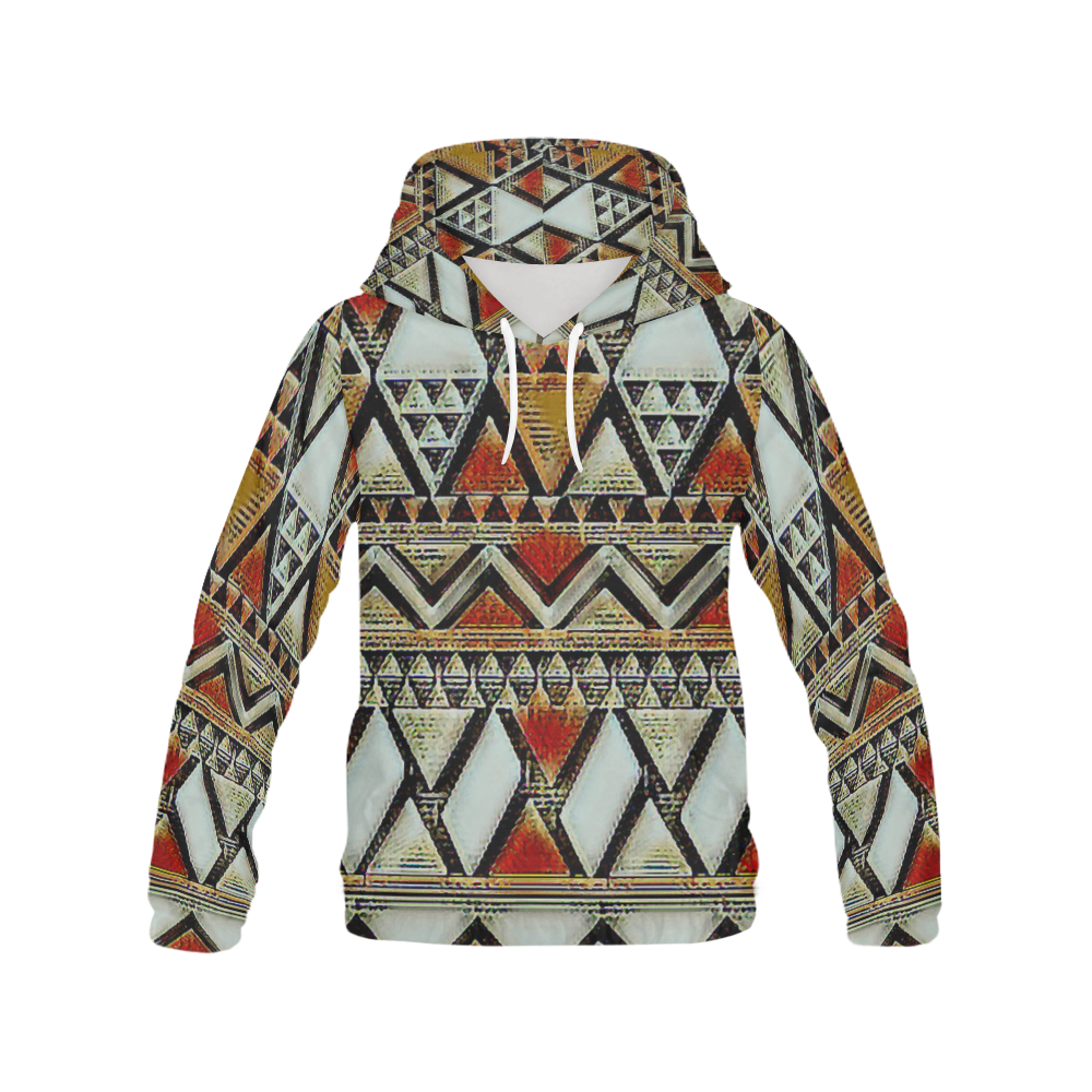 Print All Over Print Hoodie for Men (USA Size) (Model H13)
