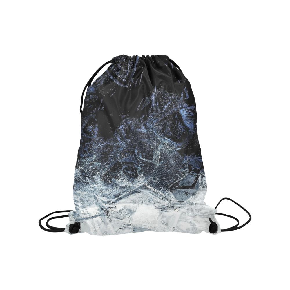 """oil_a Medium Drawstring Bag Model 1604 (Twin Sides) 13.8""""(W) * 18.1""""(H)"""