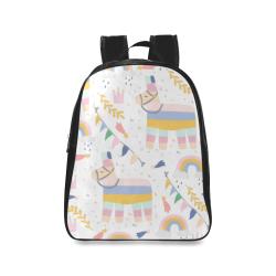 lama School Backpack/Large (Model 1601)