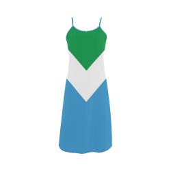 Vegan Flag Alcestis Slip Dress (Model D05)