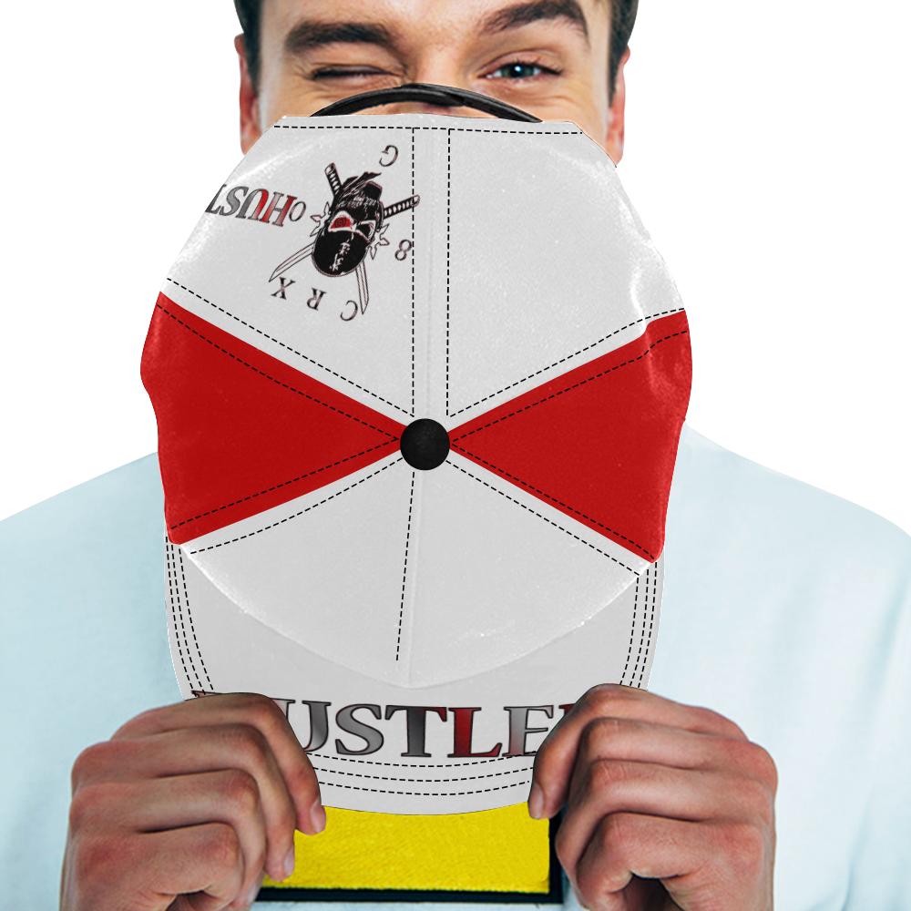 Hustler 80 G Ninja All Over Print Snapback Hat D