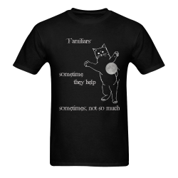 My Cat Familiar Sunny Men's T- shirt (Model T06)