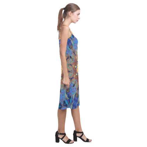 Energy mandala Alcestis Slip Dress (Model D05)