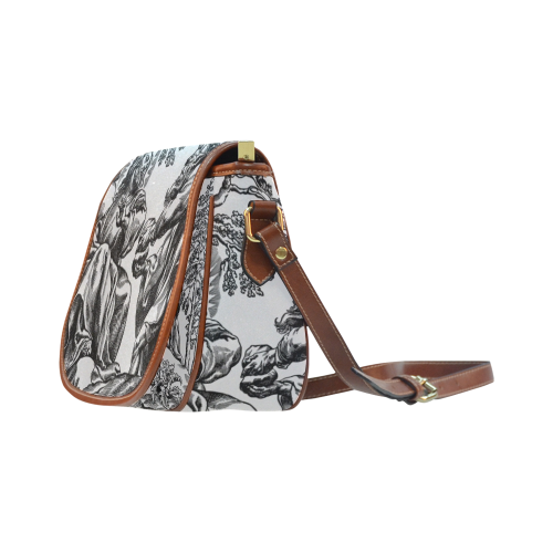 bIBLICAL iLLUSTRATION Saddle Bag/Large (Model 1649)